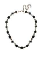 SORRELLI BLACK ONYX CRYSTAL NECKLACE ~NDQ37ASBON
