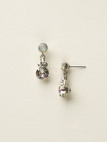 **SPECIAL ORDER**PURPLE LOTUS Crystal Earrings By Sorrelli~ECD3ASPUL