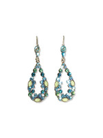 **SPECIAL ORDER**Ocean Crystal Earrings~ ECA27ASOC
