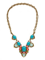 **SPECIAL ORDER**Sorrelli Botanical Brights Crystal Necklace~ NDR8AGBOT