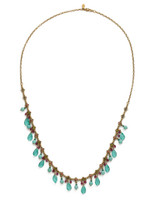 **SPECIAL ORDER**Sorrelli Botanical Brights Crystal Necklace~ NDR15AGBOT