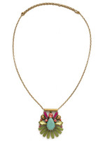 **SPECIAL ORDER**Sorrelli Botanical Brights Crystal Necklace~ NDK25AGBOT