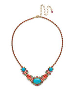 **SPECIAL ORDER**Sorrelli Botanical Brights Crystal Necklace~ NDR21AGBOT