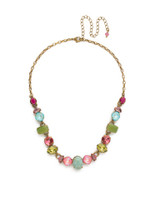 **SPECIAL ORDER**Sorrelli Botanical Brights Crystal Necklace~ NDK32AGBOT