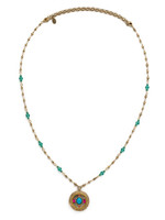 **SPECIAL ORDER**Sorrelli Botanical Brights Crystal Necklace~ NDK3AGBOT