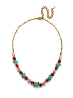 **SPECIAL ORDER**Sorrelli Botanical Brights Crystal Necklace~ NDB78AGBOT