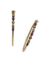 Mahogany Crystal Earrings~EDK40AGM