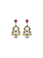 *SPECIAL ORDER** Sorrelli Happy Birthday Crystal Earrings ~ EBD19AGHB