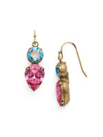 *SPECIAL ORDER** Sorrelli Happy Birthday Crystal Earrings ~ EDH62AGHB
