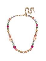 Sorrelli Radiant Sunrise Crystal Necklace~ NCP36AGRS