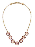 Sorrelli Radiant Sunrise Crystal Necklace~ NDS42AGRS