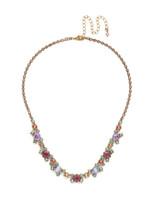 Sorrelli Radiant Sunrise Crystal Necklace~ NDK11AGRS