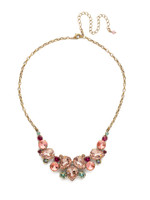 Sorrelli Radiant Sunrise Crystal Necklace~ NDJ14AGRS