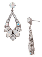 **SPECIAL ORDER**Sorrelli  White Bridal Crystal Earrings~EDA53ASWBR