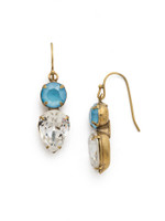***SPECIAL ORDER***DENIM BLUE Crystal Earring by Sorrelli~EDH62AGSMR
