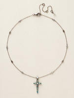 *SPECIAL ORDER**SORRELLI AEGEAN SEA CRYSTAL NECKLACE~NCK22ASAES