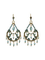 **SPECIAL ORDER**SORRELLI AQUA BUBBLES CRYSTAL EARRINGS~EBU46AGAQB