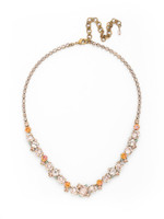 **SPECIAL ORDER**SORRELLI APRICOT AGATE CRYSTAL NECKLACE~NDK17AGAP