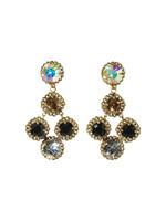Sorrelli Evening Moon Crystal Earrings~ECN2AGEM