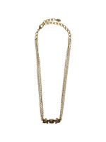 **SPECIAL ORDER**Sorrelli City Neutral  Crystal Necklace~NCE31AGCN