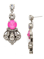**SPECIAL ORDER**PINK MUTINY CRYSTAL EARRINGS BY SORRELLI~EDS21ASPMU