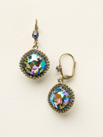 **SPECIAL ORDER**DRESS BLUES CRYSTAL EARRINGS BY SORRELLI~ECB20AGDBL