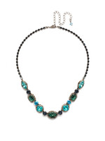 **SPECIAL ORDER**BLUE SUEDE NECKLACE BY SORRELLI~NDX7ASBSD