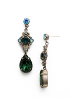 **SPECIAL ORDER**BLUE SUEDE EARRINGS BY SORRELLI~EDX26ASBSD