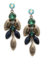 **SPECIAL ORDER**BLUE SUEDE EARRINGS BY SORRELLI~EDX5ASBSD