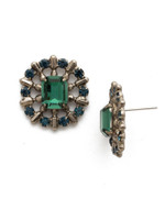 **SPECIAL ORDER**BLUE SUEDE EARRINGS BY SORRELLI~EDW60ASBSD