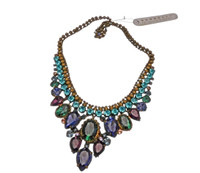 Jewel Tone Crystal Necklace by Sorrelli~NDQ3AGJT~