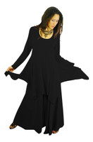 Shown in Black with Chakra Tunic