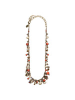 SORRELLI ANDALUSIA CRYSTAL NECKLACE~ NAX8AGAND