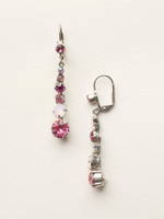 SORRELLI SWEET HEART CRYSTAL EARRINGS ~ECQ14ASSWH