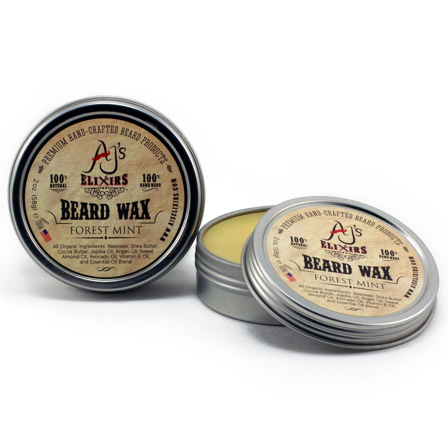 Ultra conditioning and beard softening beard wax also styles and shapes for a soft and stylish look.