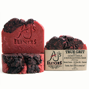 AJ's Elixirs True Grit Bar is our king of crud! Loaded with the dirt busting, grease cutting power, of volcanic pumice and citrus oils.