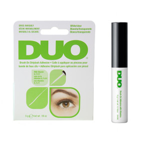 DUO® Clear Brush On Strip Eyelash Adhesive With Vitamins