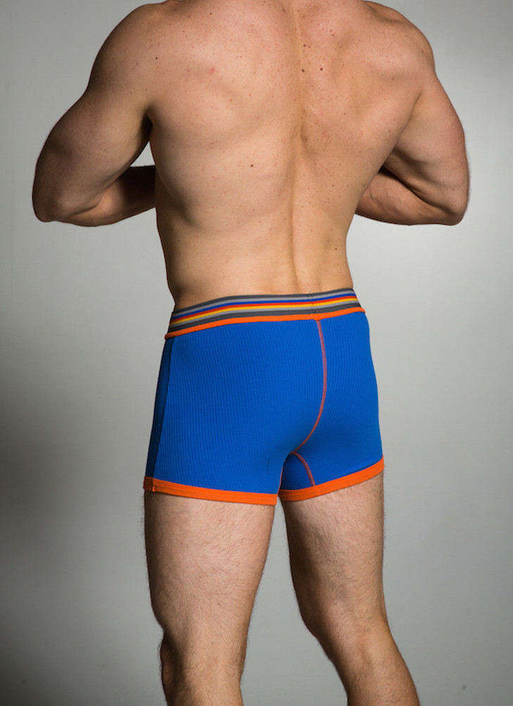 "The Ribbed Collection provides great style and support while leaving you a bit ""free"" and less constricted due to the elasticity of the ribbed fabric construction."