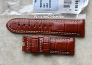 Panerai OEM Golden Brown Alligator Straps Standard & XL Length Retail $420 Now $375 USD