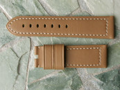 "Panerai OEM Butterscotch Calf ""Tantulum"" strap for Tang Standard Length  $240 USD"