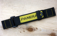 Panerai OEM Velcro Dive Strap Yellow Embroidery  Standard and Extra Long $250 USD