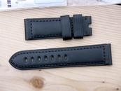 Panerai OEM 24 mm Black Calf Standard  Length $195 USD