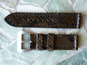 Strapmaster DZ 24 mm Brown Snake w/ DZ buckle $165 USD