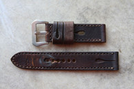 Rob Montana Vintage Military Strap w Holes 24 mm Standard Length $165 USD