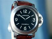 Panerai PAM 176 Luminor Base Titanium Black Sandwich Dial, 44mm Case