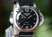 Panerai PAM 233 GMT 8 Day Mechanical Movement 1950 case 44 mm