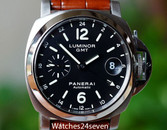 Panerai PAM 244 Luminor Marina GMT Automatic Date Steel 40mm