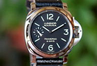 Panerai PAM 510 Luminor Marina 8 days Stainless 44mm