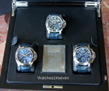 Panerai PAM 781 Frienze Special Edition 3pc Watch set blue dials