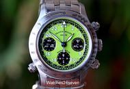 Franck Muller Endurance 24 Rattrapante LTD Lime Dial 37mm